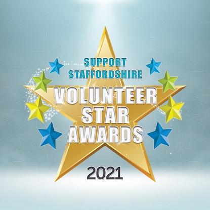 Volunteer star awards logo