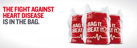 British Heart Foundation Bag it Beat it logo