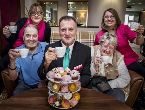 Carers celebrating 'good' rating