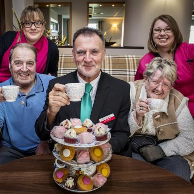 Carers celebrating 'good' rating